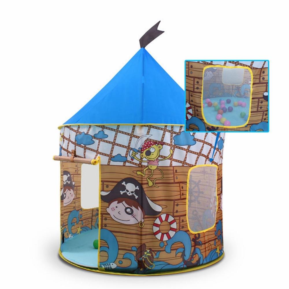 Enfants Pliable jouets tente avec Tapis Pirates Yourtes Mongoles ...