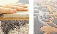 European Fashion Black And White Carpet, The Sitting Room The Bedroom Tartan Rug, Acrylic Carpets