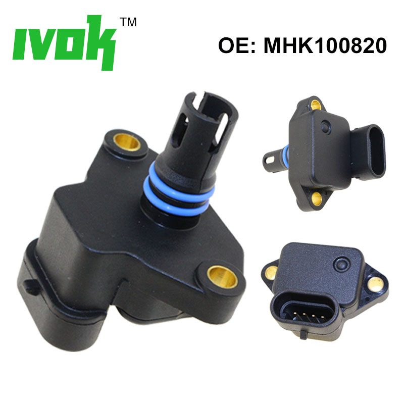 100% Test MAP Sensor Intake Air Boost Pressure Manifold Absolute Drucksensor For Land Rover MG MINI MHK100820 MHK100820L