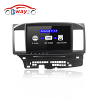Pure Android 6 0 Car Radio Stereo For MITSUBISHI Lancer 2014 Car Dvd Player 1024 600