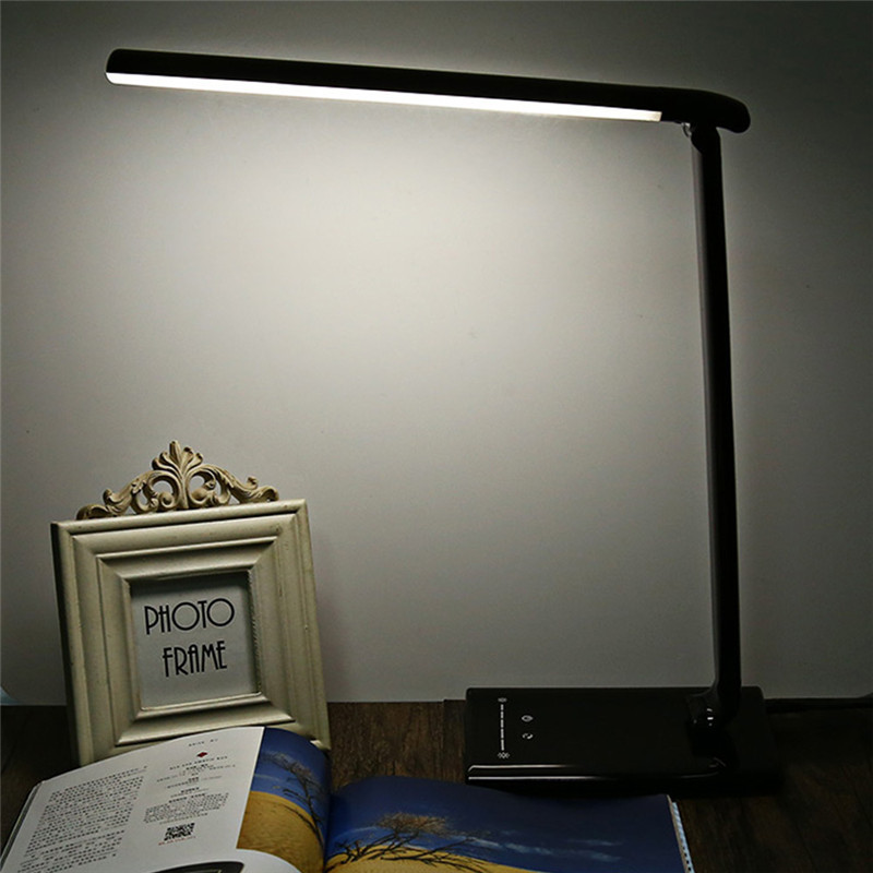 Folding design led desk lamp table lamp touch switch 7 for Design table lamp giffy 17 7