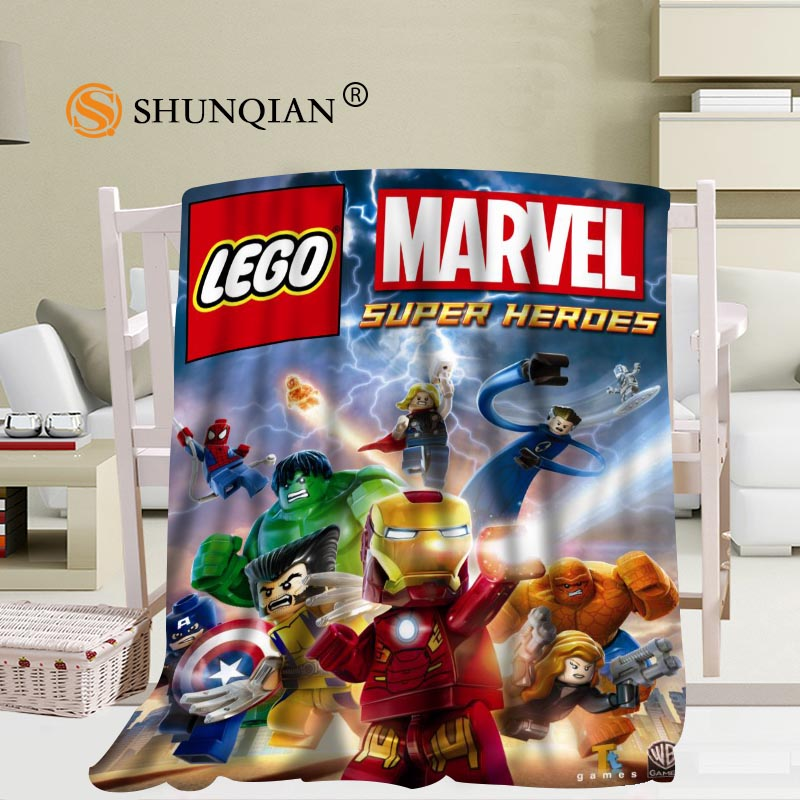 Lego Batman Héros Imprimé Couverture Polaire-Team Hero