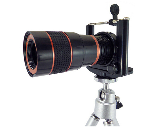 8x18 universal mini optische handy zoom teleskop kameraobjektiv