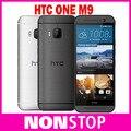 """Desbloquear o telefone móvel htc one m9 m9 originais remodelado 20.0mp 4g lte wcdma wifi gps nfc 5.0 """"Núcleo octa Android 5.0"""