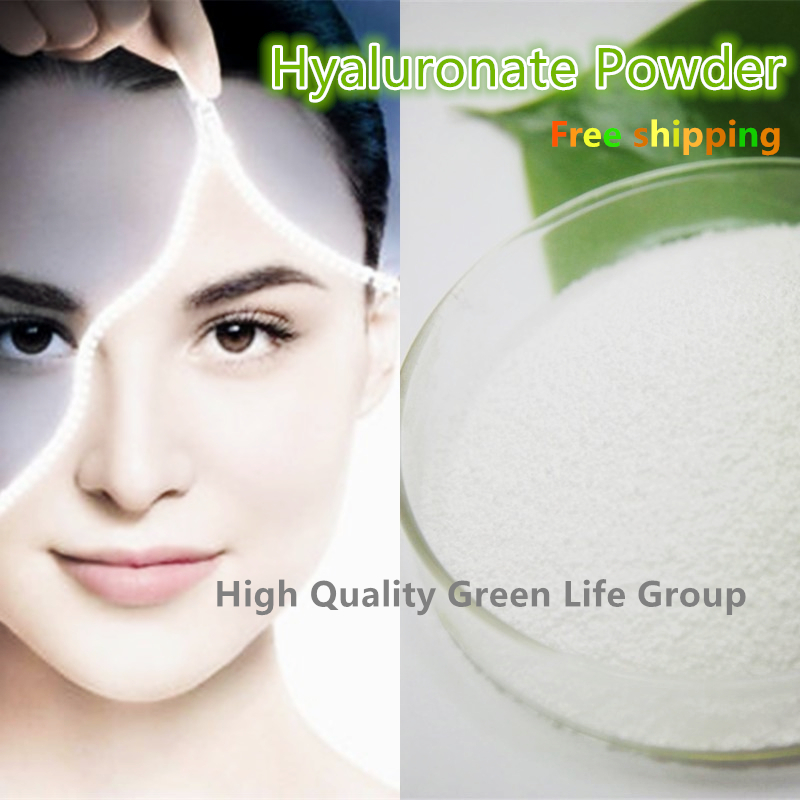 GMP Certified Cosmetic grade 100g Hyaluronic Acid powder with 99% DIY Beauty and Skin Care Raw Materials Hyaluronic Acid (HA)