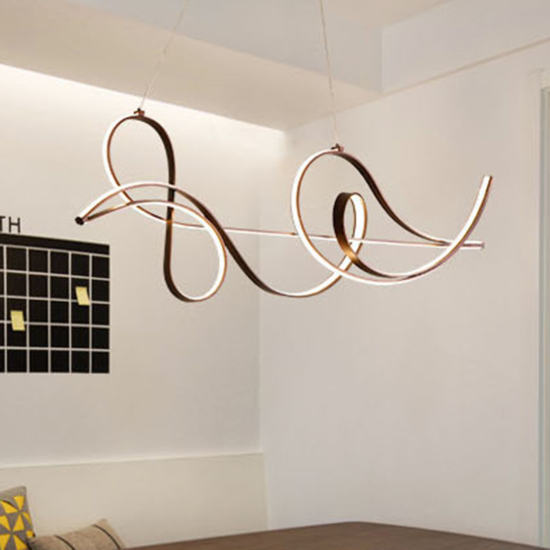 Néo GLeam accrochant des lumières modernes de pendentif LED de lampe pour le luminaire de suspension de luminaire de cuisine de salle à manger de lit