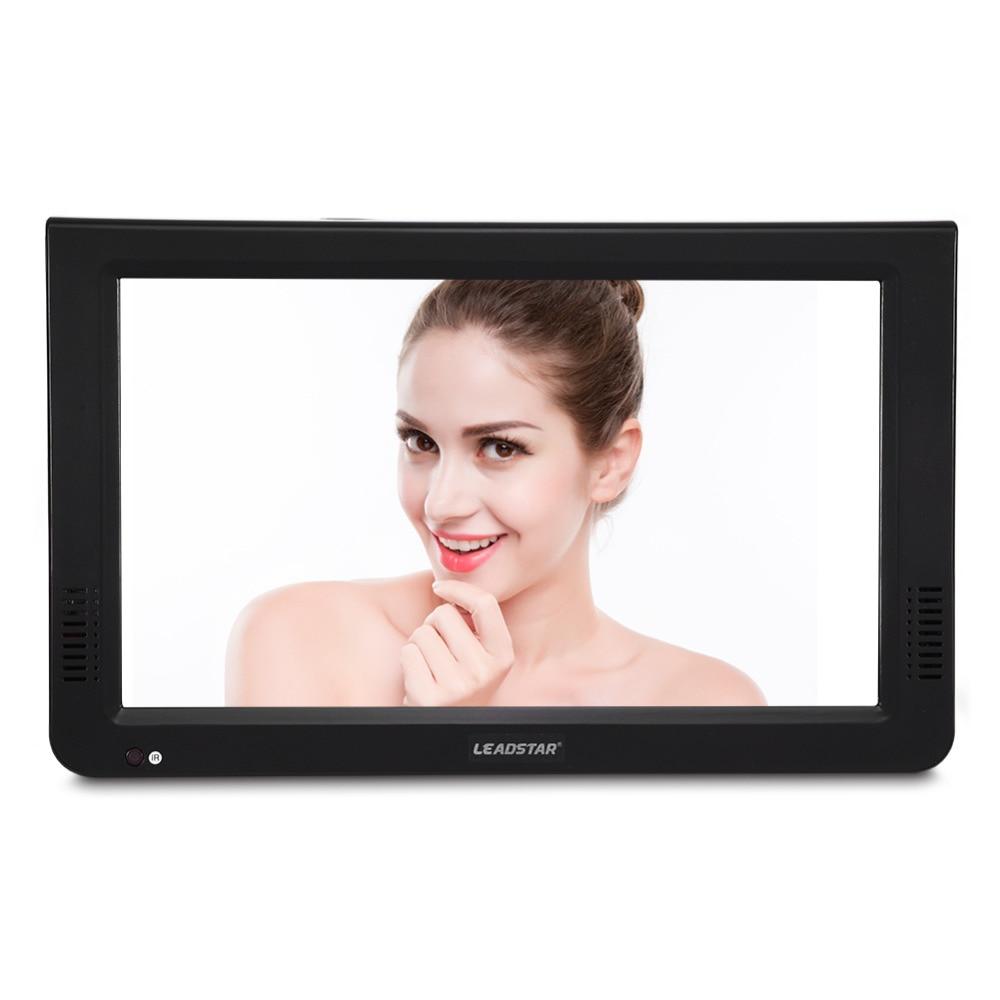 LEADSTAR Portable TV 1024×600 High Resolution 10 Inch DVB-T-T2 Digital Analog Television Set Support USB TF Card PVR