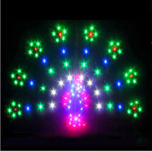free shipping high quality 2sq.m led kite various design choose with kite line ripstop nylon fabric stunt kite factory light