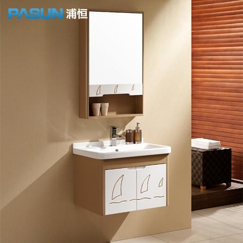 Lynx] pu heng koop hout eiken badkamermeubel badkamer spiegelkast ...