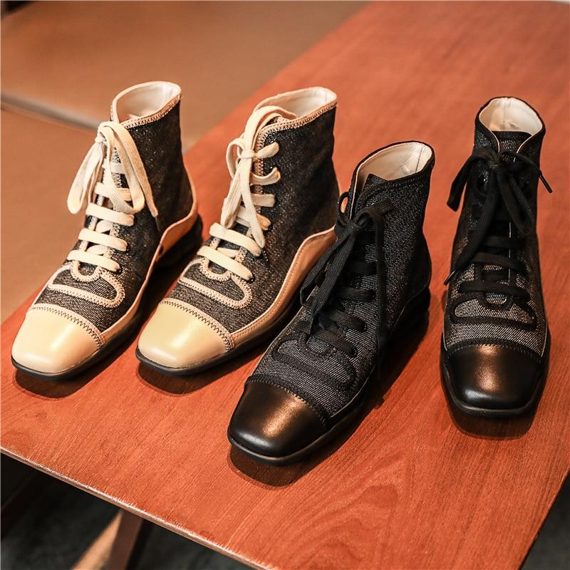 7e61d4d5 Caliente-Oto-o-Invierno-Mujer-Denim-High-Top-Lace-Up-Casual-Zapatos -cuadrados-Toe-botas-de.jpg