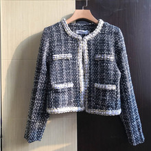 NiceMix 2019 New Long Sleeve Women Jacket Coat Fashion Plaid Casual Warm Autumn Winter Clothes chaqueta mujer