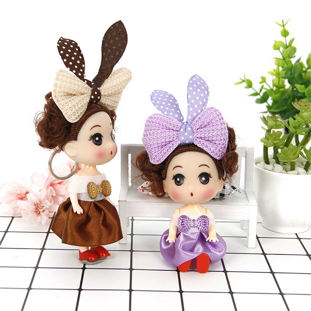 Classic Toy Confused Wedding Dolls Vinyl Toys Baby Doll Random 12cm Children's Toys Christmas Wedding Gift