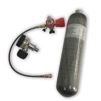 Acecare 2L 30Mpa углерода волокно/Пейнтбол бак/цилиндр для PCP целевой стрельба Air винтовка Охота + клапан АЗС AC102201