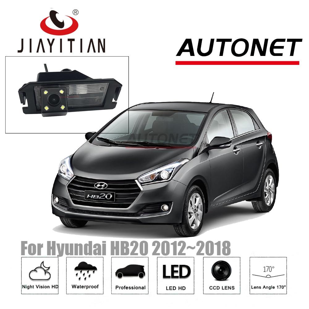 JiaYiTian RearView Camera For Hyundai HB20 HB20X 2012~2018 CCD Night Vision Reverse Camera License Plate Camera Backup Camera