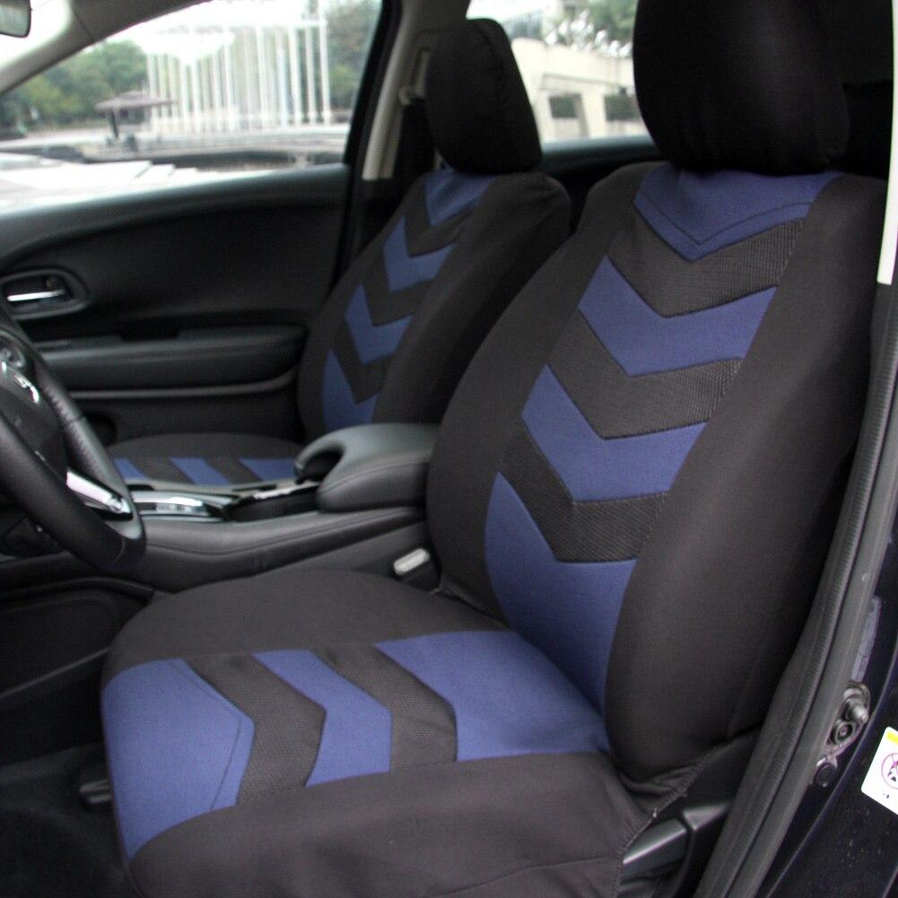 Universal Car Seat Cover Set 9pcs Front Seat Back Seat