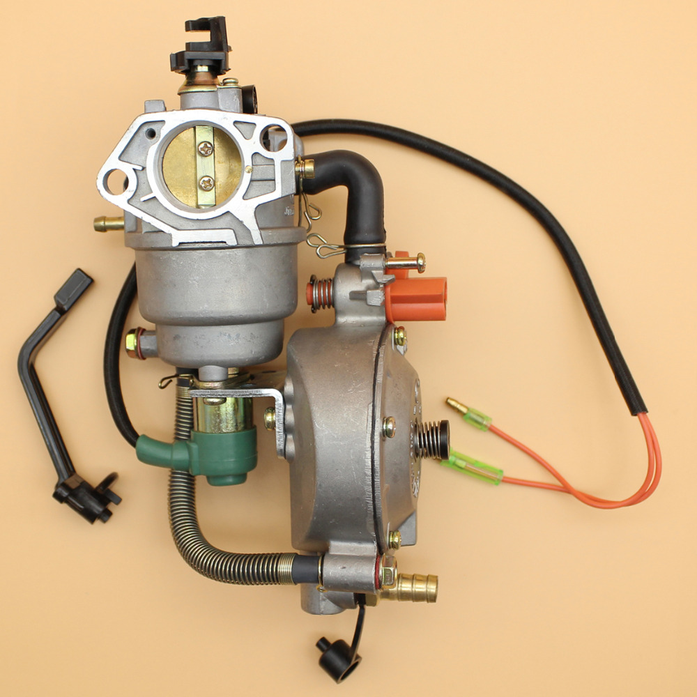 Dual fuel conversion kit carburatore per honda gx390 benzina 188f gx420 metano gpl generatore motore