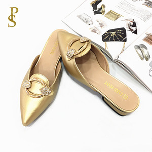 Image 5 - Womens shoes in summer PU sole slippers for ladies Womens pointed shoes