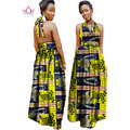 2017 african dresses for women Fashion Design dashiki women bazin riche  long cotton dress dashiki plus size regular  6xl WY972