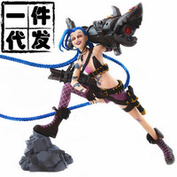 NEW Hot! 31cm The Loose Cannon Jinx action figure toys collection doll Christmas gift with box