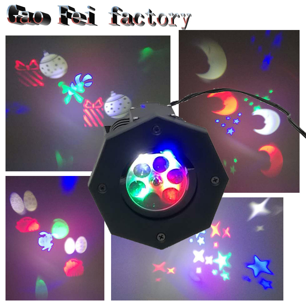 Outdoor Snowflake snow Laser LED Landscape Light Garden Holiday Projector moving pattern Christmas Wedding Party spotlight show