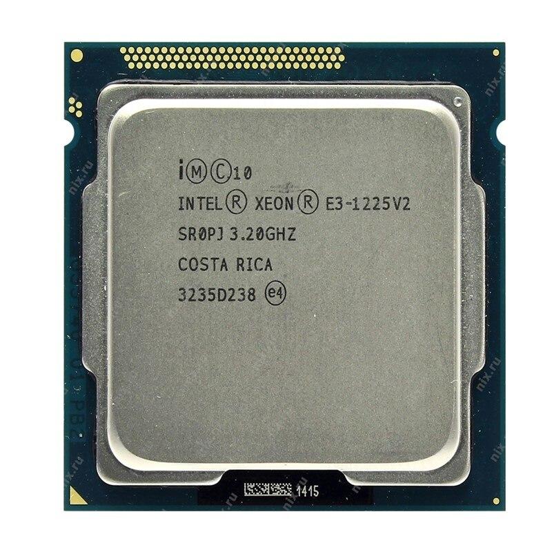 Intel Xeon E3 1225 V2 Quad Core CPU Processor 3 2GHz LGA 1155 8MB E3 1225