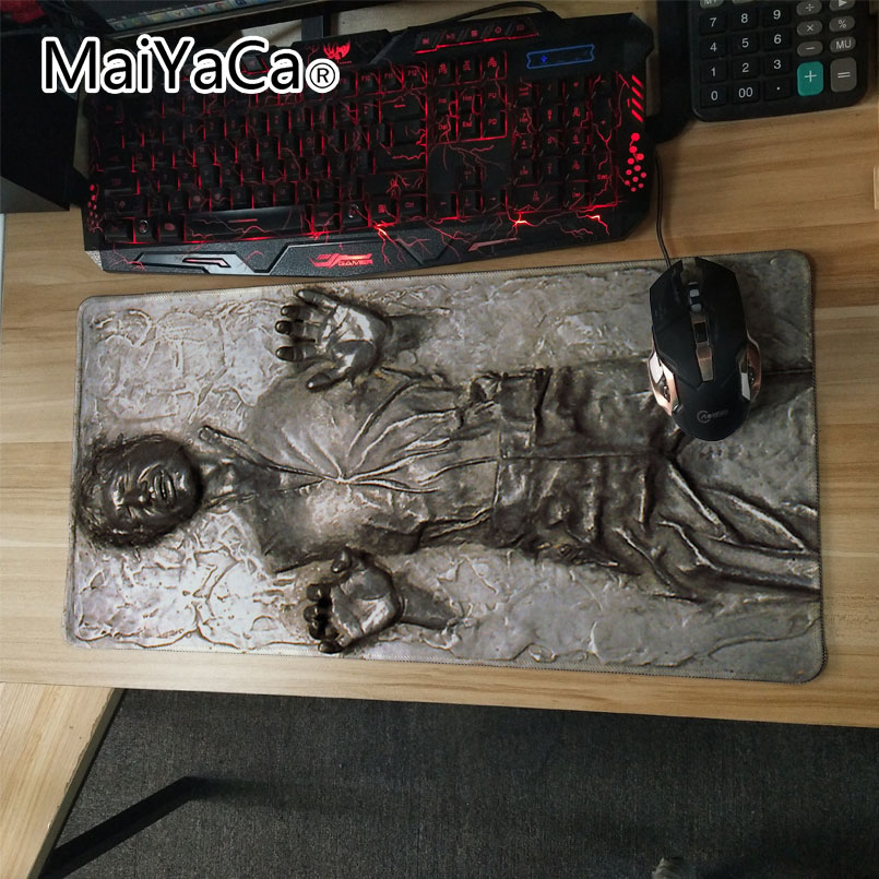 MaiYaCa Laptop Gaming Mouse Pads Locking Edge Star War Mouse Pad Mat For LOL Dota2 CS Mouse Mice Pad For Game Player