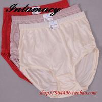 Ladies Underwear Waist Silk 100 Silk Knitting Silk Panties With Superfine Size