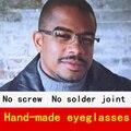 Ultra-thin and light glasses frame men myopia reading eyeglasses frames men brand oculos creative personality with original case