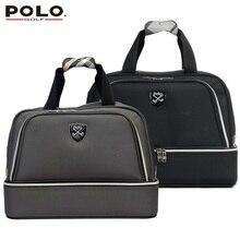 020424 Authentic Famous Polo Golf Double Clothing Bag Men Travel Golf Shoes Bag Custom Handbag Large Capacity45*26*34 CM