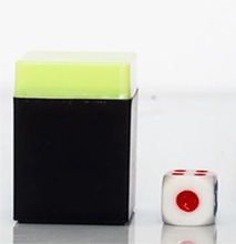 Wholesale 50pcs Magic trick magic dice close up party trick kids for fun prediction magic props easy to do tricks 1set tenyo paradox magic tricks kids close up magic prop parabox easy to do for magicians kids magic gift e3049