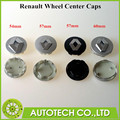 4 x Renault 54mm 57mm 60mm Alloy Wheel Center Hub Caps Clio Megane Laguna Scenic Renault Wheel Center Emblem Badge Logo