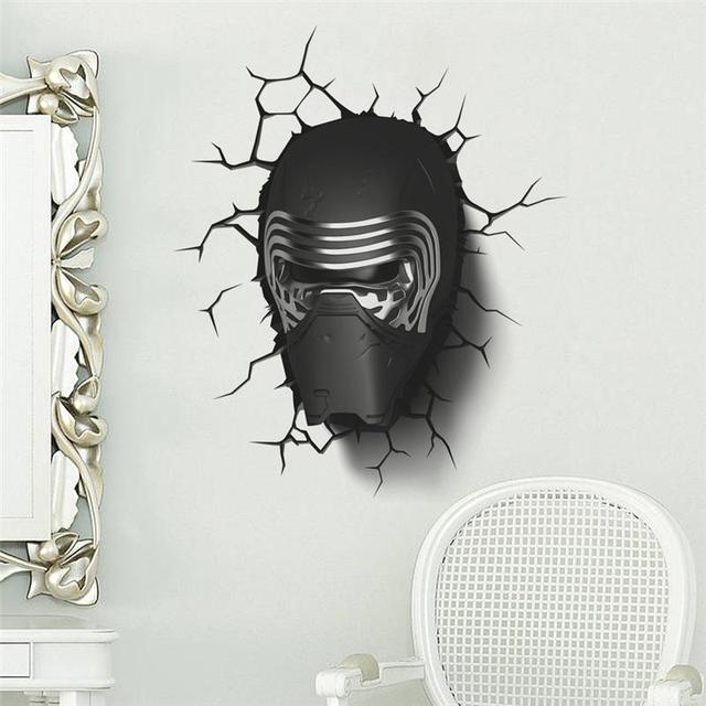 Star Wars Kylo Ren 3D effect Wall Sticker