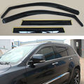 4 Pieces Set Embedded Type Window Visors Rain Sun Guard Vent Shade Set For Jeep Cherokee 2013 2014 2015 2016 [QPA404]