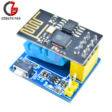 Wifi Control ESP8266 ESP-01 ESP-01S Temperature Humidity Sensor Module for Smart Home Temperature Controller Thermostat DIY Kit(China)