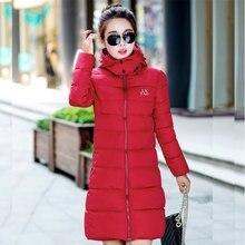пальто женское 2016 зимняя куртка черный женскую одежду с капюшоном парки Damen вниз Большой размер L-XXXL Casacos De Inverno Femininos куртка женская