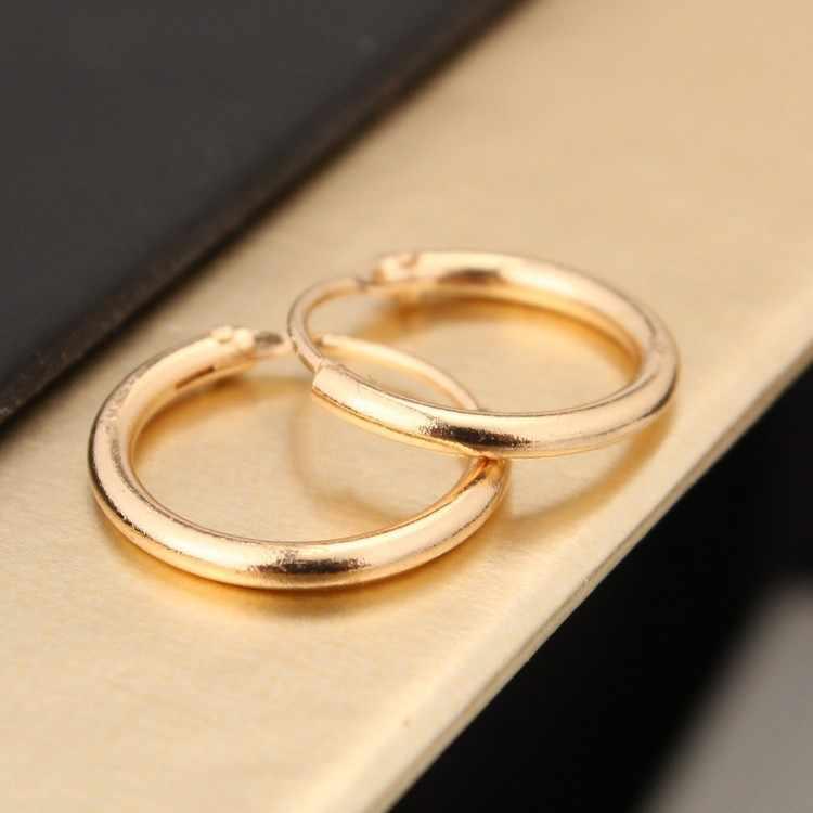 South Korea Jewelry Earrings Lovers Circle Ear Ring Earrings For Women And Rings Earrings  Female Hip Hop Hoop Earrings
