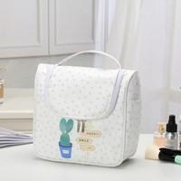 SAFEBET Brand Waterproof Women Large Makeup Bag Convenient Travel Cosmetic Bag Organizer Necessaries Make Up Wash