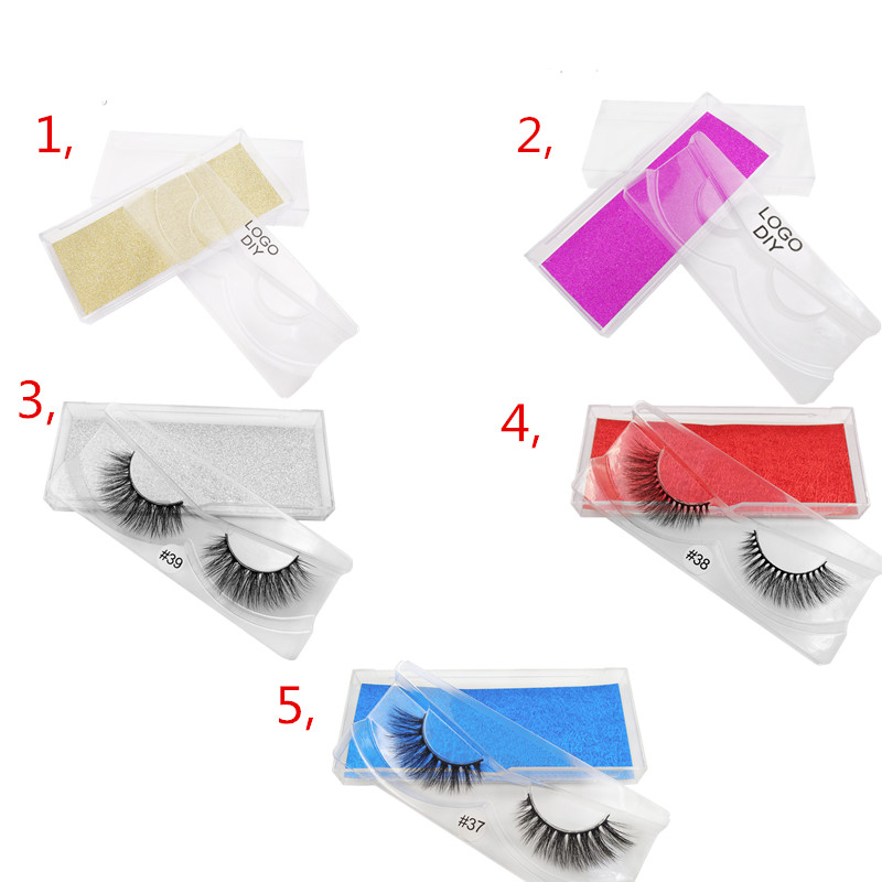 30 boxes for customized packing with eyelashes