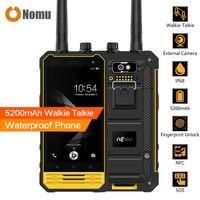Nomu T18 Walkie Talkie Waterproof Shockproof 5200mAh IP68 Mobile Phone 4 7 MTK6737T Quad Core Android