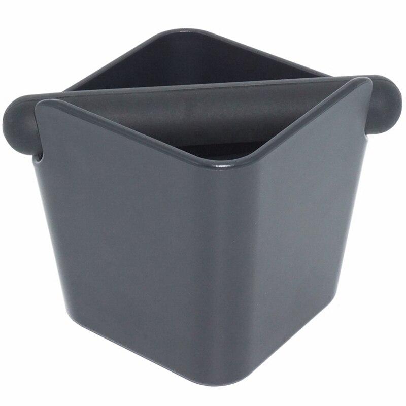 Ferramentas de café de alta capacidade do recipiente dos motivos do espresso da caixa de batida do café para barista + base antiderrapante