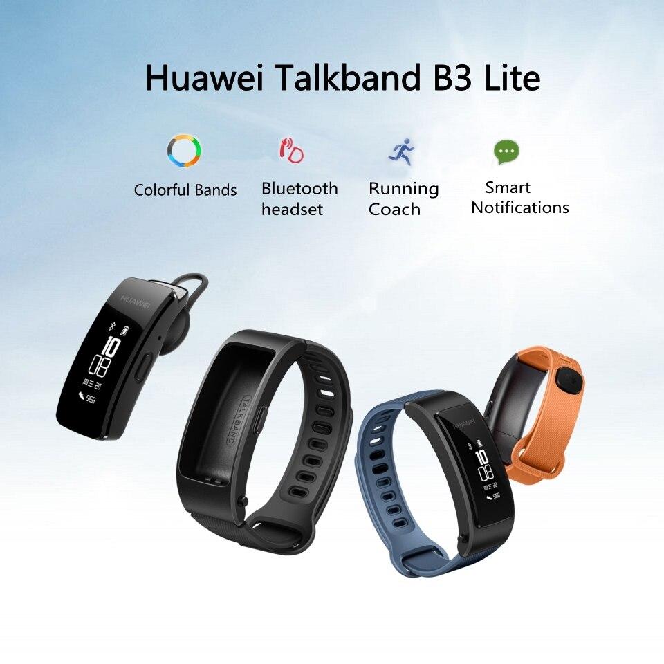 Original Huawei Smart Band Bluetooth Headset Huawei TalkBand B3 Lite