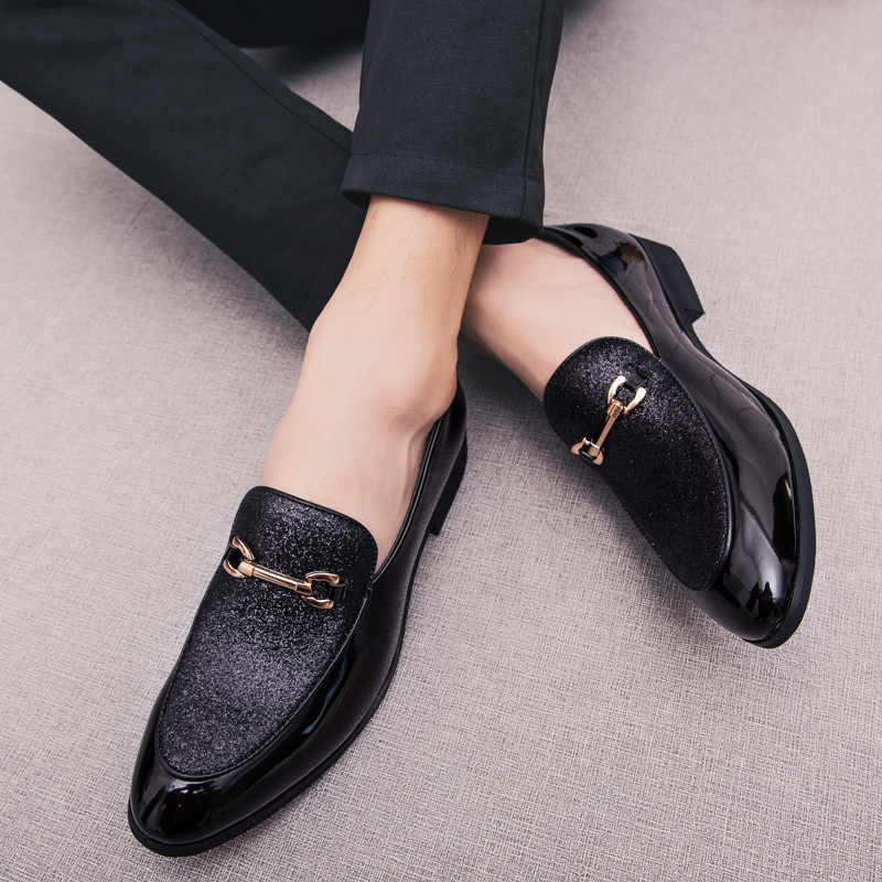 Mode Wees Teen business Jurk Schoenen Mannen Loafers Lederen Oxford Schoenen voor Mannen Formele Mariage misstap Wedding party Schoenen k3