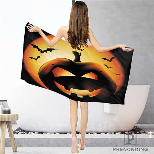 Bathroom Washcloth Towels Face Towel/bath Towel Shower Towels Size 33x74cm/72x143cm#18-12-16-01-39 Fixing Prices According To Quality Of Products 2 Smart Custom Halloween