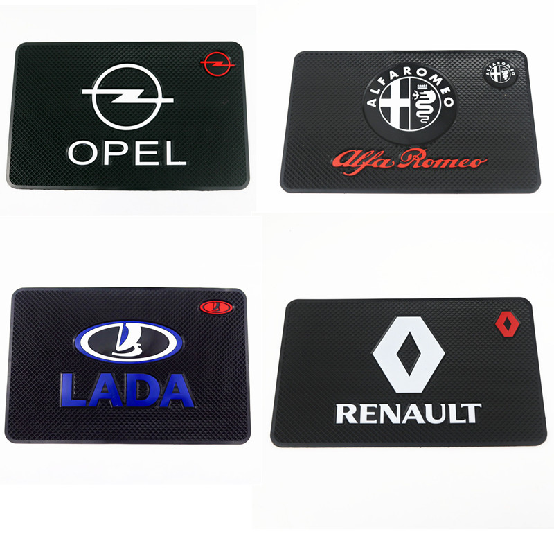Car-Styling Car Sticker Mat Case For Renault Opel Lada Alfa Romeo Fiat Dacia seat Mazda Ford Toyota Peugeot Kia Car Styling tcmt motorcycle black two up luggage rack w led light for harley sportster xl dyna super glide street bob softail classic flstc
