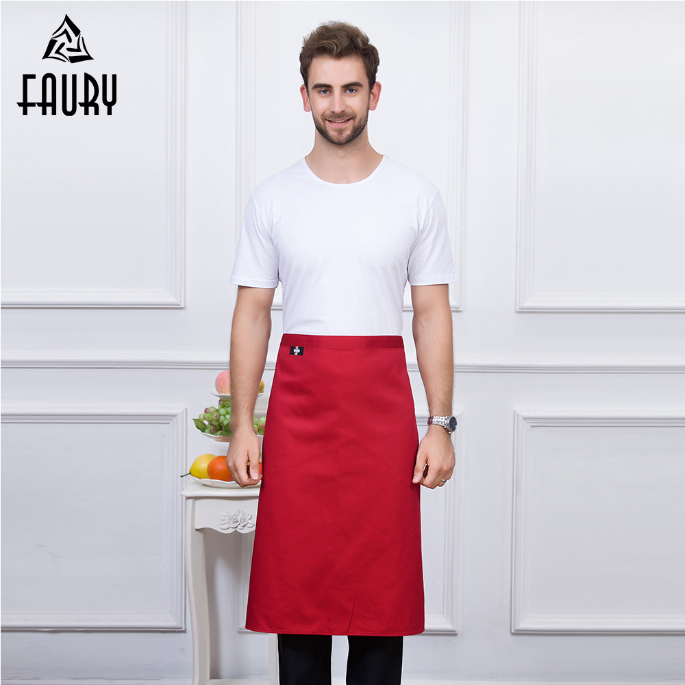 High Quality Unisex Restaurant Work Wear Home Kitchen Hotel Coffee Shop Bakery Chef Waiter Cleaning Cooking Work Wear Aprons