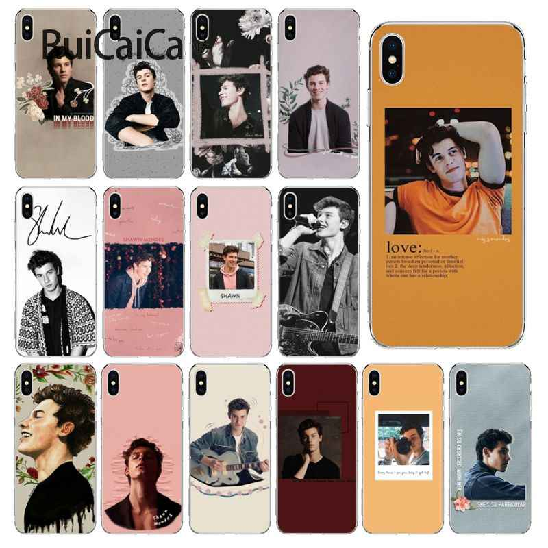 Ruicaica นักร้อง Shawn Mendes Magcon Novelty Fundas สำหรับ iPhone 5 5Sx 6 7 7 plus 8 8 plus X XS MAX XR