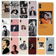 Ruicaica Zanger Shawn Mendes Magcon Nieuwigheid Fundas Telefoon Case Cover voor iPhone 5 5Sx 6 7 7 plus 8 8 plus X XS MAX XR(China)