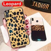 hot deal buy luxury soft bumper silicone tpu leopard print back cover for xiaomi mi mix 3 6x a2 redmi note 5 pro 4 4x max 3 plus case coque
