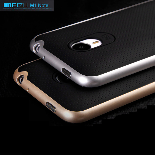 High quality  ipaky brand  Meizu M1 Note 5.5 inch case silicone protective cover free shipping all color in stock
