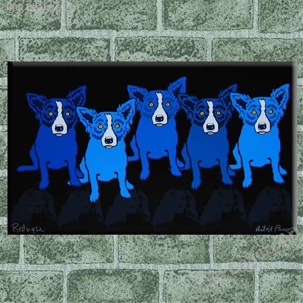 Blauwe hond posters promotie winkel voor promoties blauwe hond ...